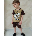 Комплект мальчиковый футболка и шорты (КМ-01 стрейч кулир)