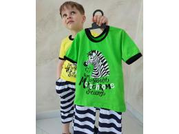 Комплект мальчиковый футболка и шорты  (КМ- 03 кулир рулон  )