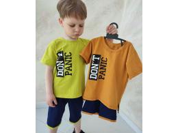 Комплект мальчиковый футболка и шорты (КМ-19 стрейч кулир)
