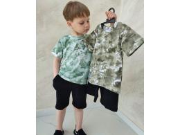 Комплект мальчиковый футболка и шорты (КМ-20 стрейч кулир)
