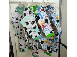 Пижама детская для мальчика и девочки  ( ПЖ-04 начес набивной нов. )