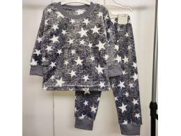 Пижама детская для мальчика и девочки  ( ПЖ-09  вельсофт набивной)