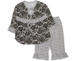 Пижама детская для девочки  ( ПЖ-12 кулир 2-го крошения  )