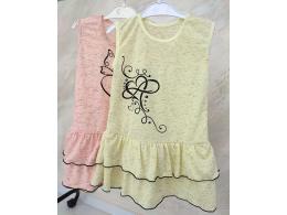 Платье детское для девочки  ( ПЛ-01 кулир рябчик )