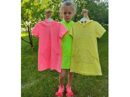 Платье детское для девочки  ( ПЛ-07 фуликра рябчик )