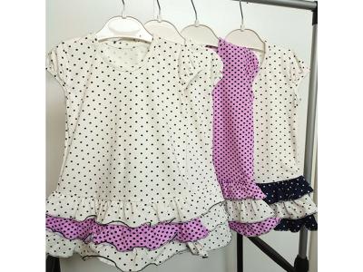 Платье детское для девочки  (ПЛ-15 стрейч кулир)