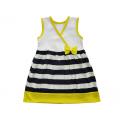 Платье детское для девочки  (ПЛ-28 кулир полоска)