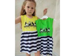 Платье детское для девочки  (ПЛ-35 кулир рулон)