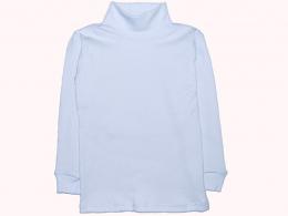 Водолазка детская для мальчика и девочки   (ВД-01 рубчик белый)